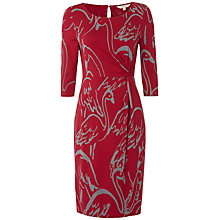 Buy White Stuff Dinner Dress, Dark Rouge Online at johnlewis.com