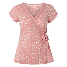Buy White Stuff Crosley Wrap Top, Mid Strawberry Online at johnlewis.com