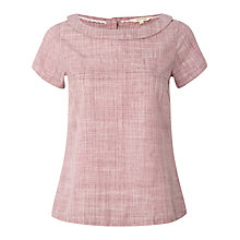 Buy White Stuff Happy Days Cotton Top, Rouge Online at johnlewis.com