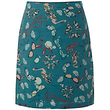 Buy White Stuff Flamingo Skirt, Jewelled Jade Online at johnlewis.com
