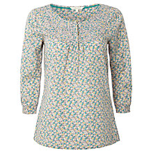 Buy White Stuff Delphine Top, Drizzle Grey Online at johnlewis.com