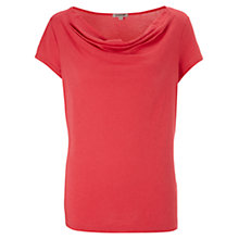 Buy Jigsaw Modal Cotton Cowl Neck T-Shirt Online at johnlewis.com