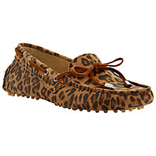 Buy Dune Leah Suede Moccasin Online at johnlewis.com