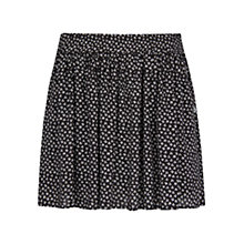 Buy Mango Liberty Print Skirt, Black Online at johnlewis.com