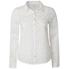 Buy White Stuff Marshmallow Heart Shirt, White Online at johnlewis.com