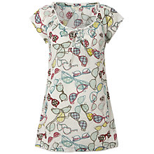 Buy White Stuff Rockwell Specs Tunic, White Online at johnlewis.com