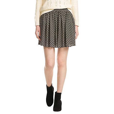 Buy Mango Liberty Print Skirt, Natural White Online at johnlewis.com