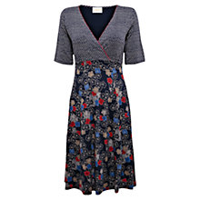 Buy East Blossom Print Jersey Dress, Ink Online at johnlewis.com