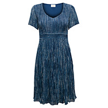 Buy East Yoko Bubble Dress, Indigo Online at johnlewis.com
