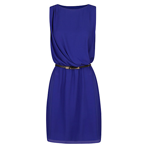 Buy Mango Draped Chiffon Dress Online at johnlewis.com