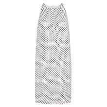 Buy Mango Bicolour Print Dress, Natural White Online at johnlewis.com