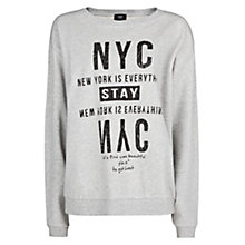 Buy Mango NYC Sweatshirt, Medium Grey Online at johnlewis.com