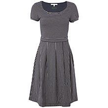 Buy White Stuff Washington Dress, Thunder Grey Online at johnlewis.com