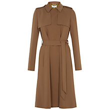 Buy Hobbs Abby Trench Coat, Bronze Online at johnlewis.com