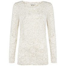 Buy Hobbs Karmen Top, Ivory Gold Online at johnlewis.com