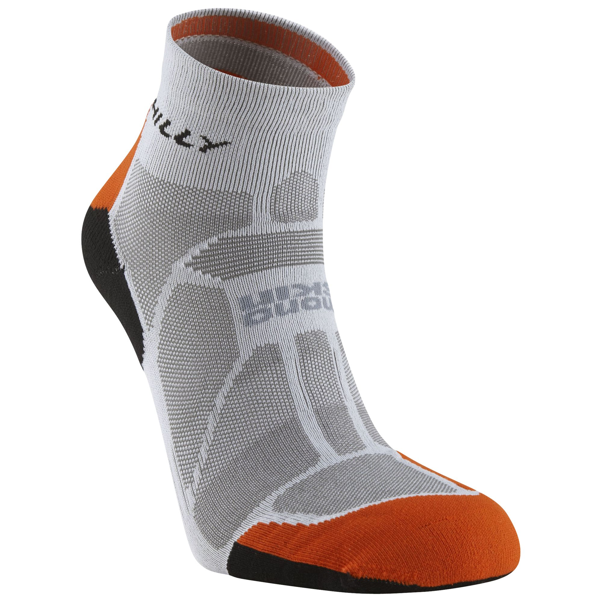 Hilly Hilly Marathon Fresh Anklet, Grey/Orange