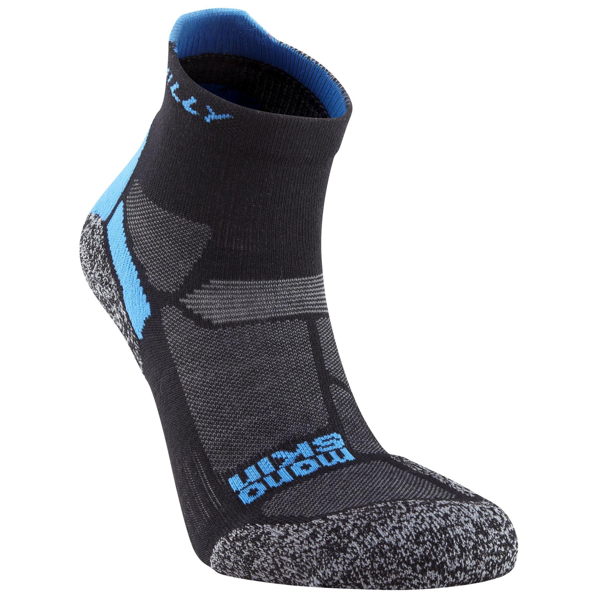 Hilly Hilly Energize Anklet Socks, Black/Blue