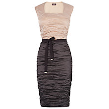 Buy Phase Eight Melinda Dress, Oyster/Mink Online at johnlewis.com
