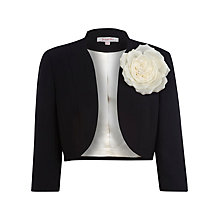 Buy Jacques Vert Bolero Jacket, Black Online at johnlewis.com
