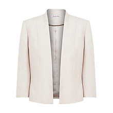 Buy Jacques Vert Edge Jacket, Champagne Online at johnlewis.com