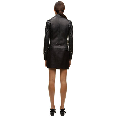 Buy Whistles Lita Leather Jacket Online at johnlewis.com
