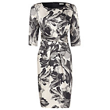 Buy Planet Graphic Floral Dress, Grey Online at johnlewis.com