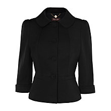 Buy Phase Eight Alicia Jacket, Charcoal Online at johnlewis.com