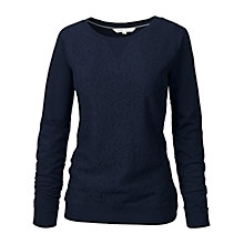 Buy Fat Face Kenmare Lace Front Sweater Online at johnlewis.com