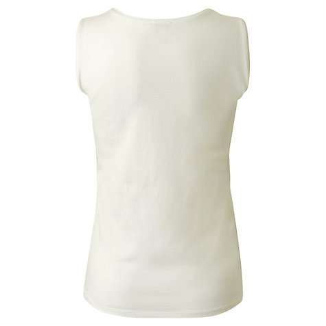 Buy East Cotton Jersey Vest Online at johnlewis.com