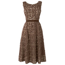Buy Phase Eight Lorenza Dress, Praline Online at johnlewis.com