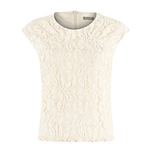 Buy Planet Lace Top, Champagne Online at johnlewis.com