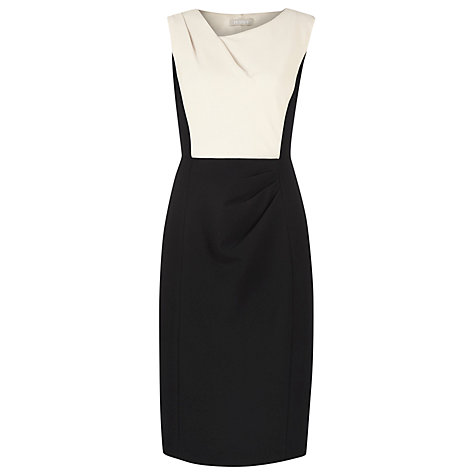 Buy Planet Contrast Dress, Black/White Online at johnlewis.com
