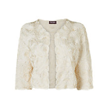 Buy Phase Eight Grace Tapework Bolero, Porcelain Online at johnlewis.com