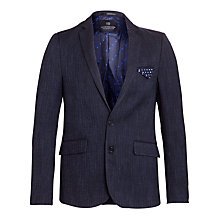 Buy Scotch & Soda Wool Blazer, Night Online at johnlewis.com