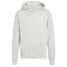 Buy Scotch & Soda Home Alone Twisted Hoodie, Grey Melange Online at johnlewis.com