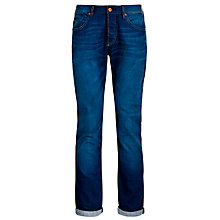 Buy Scotch & Soda Ralston Regular Slim Jeans, Burning Bush Online at johnlewis.com