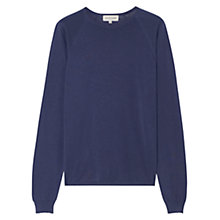 Buy Jigsaw Pima Cotton Raglan Jumper Online at johnlewis.com