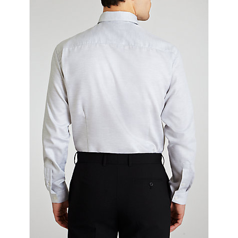 Buy Selected Homme River Melange Long Sleeve Shirt, Grey Online at johnlewis.com