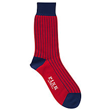 Buy Thomas Pink Cotton Socks Online at johnlewis.com