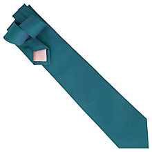 Buy Thomas Pink Alston Neat Woven Tie, Blue/Green Online at johnlewis.com