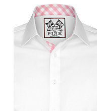 Buy Thomas Pink Plato Plain Long Sleeve Shirt Online at johnlewis.com