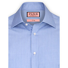 Buy Thomas Pink Humbert Stripe XL Sleeve Shirt, Blue Online at johnlewis.com