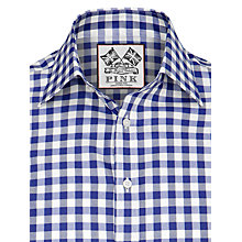 Buy Thomas Pink Plato Check Long Sleeve Shirt Online at johnlewis.com