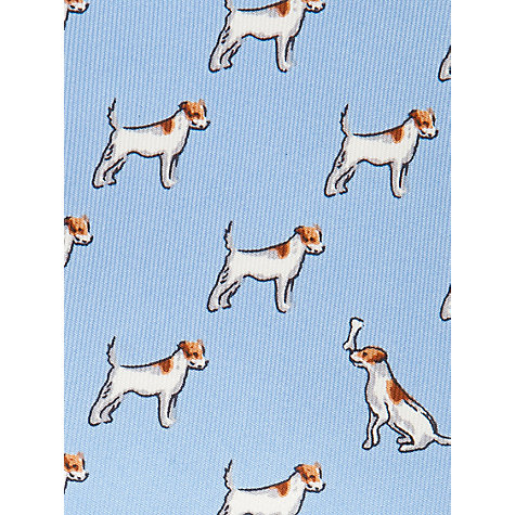 Buy Thomas Pink Terrier Print Tie Online at johnlewis.com