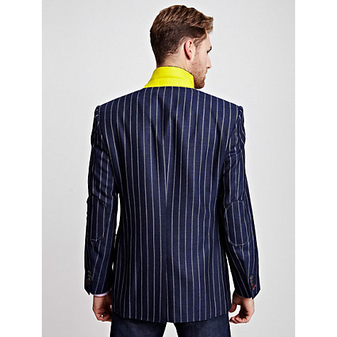 Buy Thomas Pink Ferrier Jacket, Blue/White Online at johnlewis.com