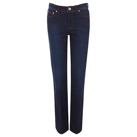 Buy Oasis Regular Rinse Wash Scarlet Bootcut Jeans Online at johnlewis.com