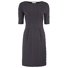 Buy Kaliko Textured Tuck Dress, Blue Online at johnlewis.com