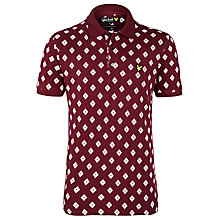 Buy Lyle & Scott Archive Print Polo Shirt Online at johnlewis.com