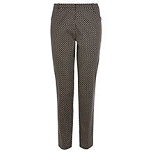 Buy Oasis Mila Tile Print Trouser, Multi Online at johnlewis.com