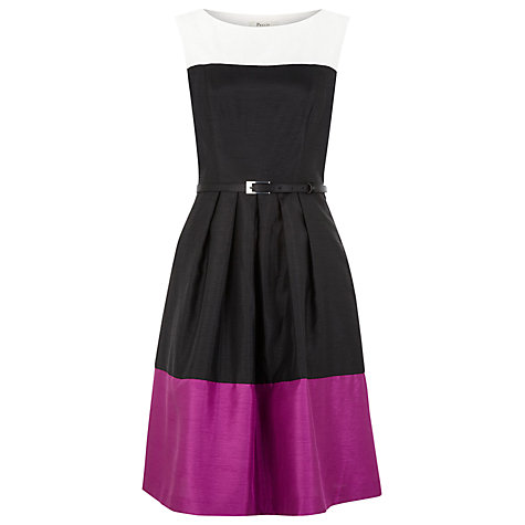 Buy Precis Petite Colour Block Dress, Multi Online at johnlewis.com